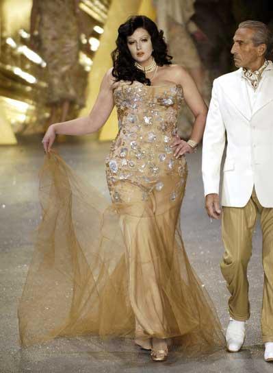 Johanna Dray pour John Galliano en 2006