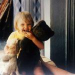 Anne bébé, bien longtemps avant d'être une femme